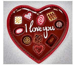 Oakridge Mall Valentine's Chocolate