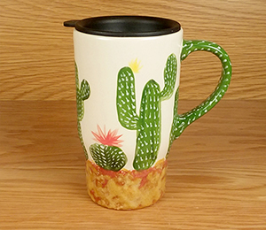 San Jose Cactus Travel Mug