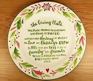 San Jose The Giving Plate