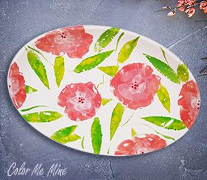 San Jose Floral Paper Stamping