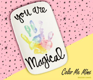San Jose Rainbow Hand-print