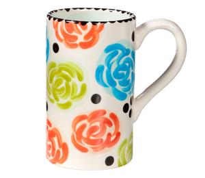 San Jose Simple Floral Mug