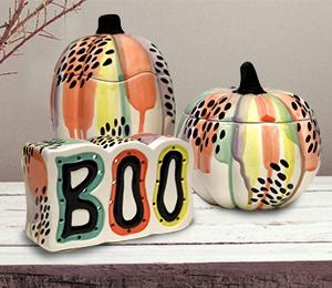 San Jose Drippy Pumpkin Box