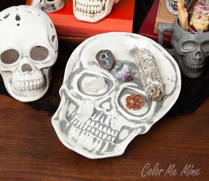 San Jose Vintage Skull Plate