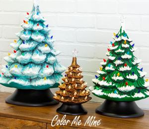 San Jose Vintage Christmas Trees