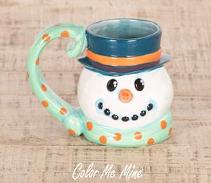San Jose Snowman Mug