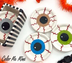 San Jose Eyeball Coasters